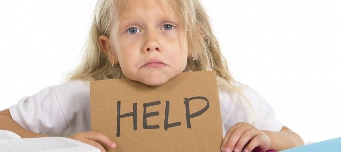 Kind met leerproblemen en achterstand in de ontwikkeling